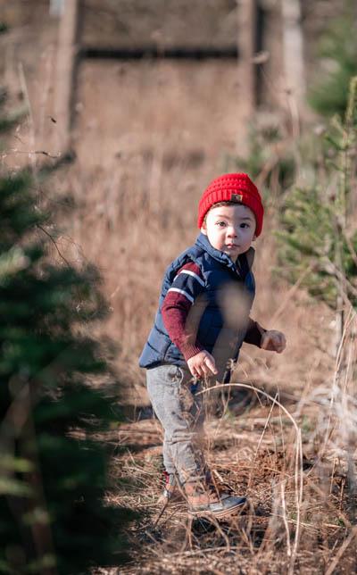Christmas Kid Tree